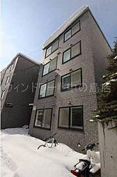 北海道札幌市豊平区水車町1の賃貸マンションの外観