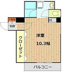 エトワール山手KOYAMA[4階]の間取り