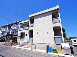 埼玉県富士見市関沢2丁目の賃貸アパートの外観