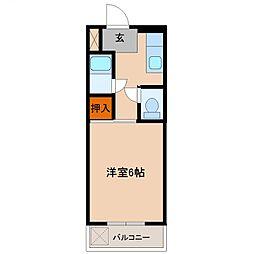 rinobirth6(リノバース6)[101号室号室]の間取り