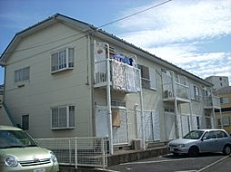 神奈川県茅ヶ崎市松林1丁目の賃貸アパートの外観