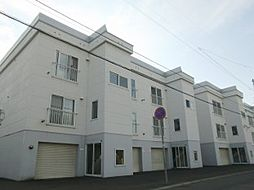 北海道札幌市東区北十一条東12丁目の賃貸アパートの外観