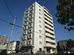 北海道札幌市東区北十七条東7丁目の賃貸マンションの外観