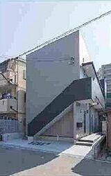 大阪府大阪市住之江区御崎3丁目の賃貸アパートの外観