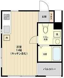 ウィルドゥ南浦和[4階]の間取り