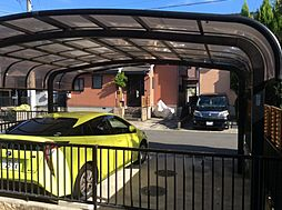 カーポート 並列2台駐車可能
