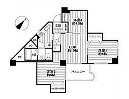 武蔵野グリーンタウンC棟 609