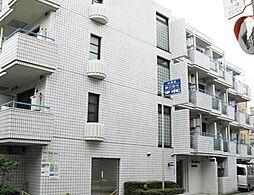 東京都中野区新井2の賃貸マンションの外観