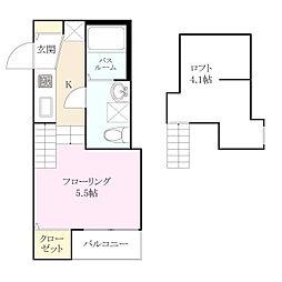 スペランザ・ピーノ吉塚[2階]の間取り