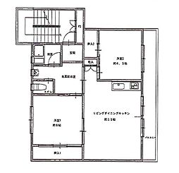 ビレッジハウス佐賀第二 2号棟[402号室]の間取り
