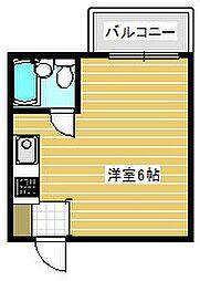 シャトー第2花園[3階]の間取り