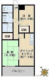 タイセイマンション[301号室]の間取り