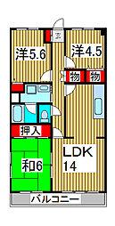 FKパストラル[5階]の間取り