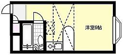 PACEII[1階]の間取り