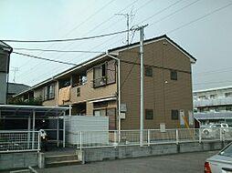 千葉県鎌ケ谷市南初富の賃貸アパートの外観