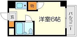 ピア土江パートI[3階]の間取り