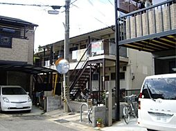 京都府京都市伏見区納所薬師堂の賃貸アパートの外観