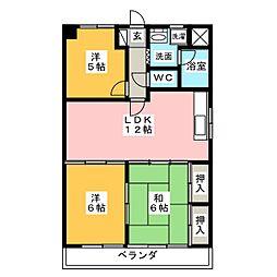 ハムステッドコート[7階]の間取り