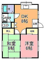 [一戸建] 茨城県ひたちなか市西大島3丁目 の賃貸【茨城県 / ひたちなか市】の間取り