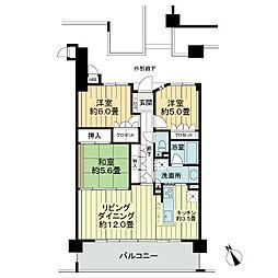 サーパス西新ネオステージ[2階]の間取り