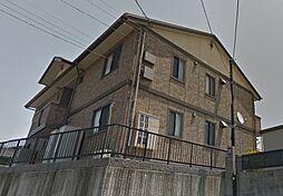 山口県宇部市西小串1丁目の賃貸アパートの外観