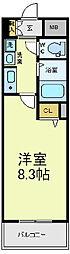 フェニックス日本橋高津[6階]の間取り
