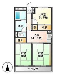 田島マンション[3階]の間取り