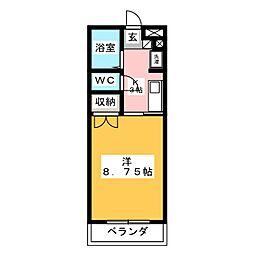 メゾンドニュースリー[2階]の間取り