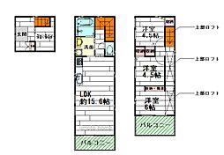 [一戸建] 大阪府豊中市豊南町南1丁目 の賃貸【/】の間取り