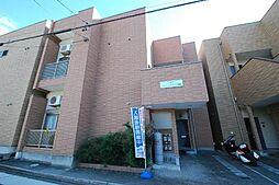 愛知県名古屋市守山区川西1丁目の賃貸アパートの外観
