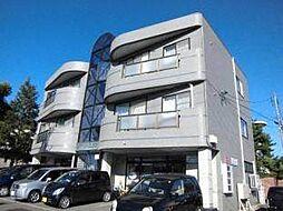 北海道札幌市厚別区厚別南5丁目の賃貸マンションの外観