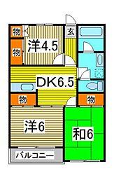 メークアローII[2階]の間取り