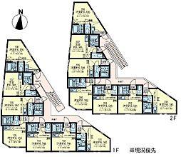 ユナイト根岸 ミランダの杜[2階]の間取り