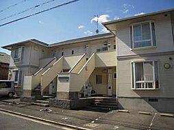 京都府相楽郡精華町桜が丘3丁目の賃貸アパートの外観