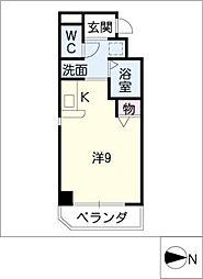 シャルム久屋[5階]の間取り