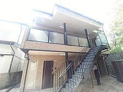 兵庫県神戸市灘区箕岡通1丁目の賃貸アパートの外観