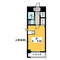 第2フクマルビル[4階]の間取り