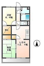 ESOP−R[4階]の間取り