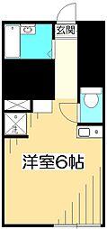 バーミープレイス武蔵小金井III[1階]の間取り