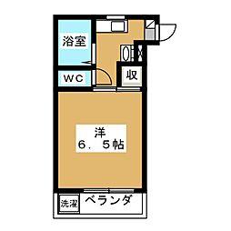 メゾンf[5階]の間取り