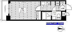 ステージファースト恵比寿二番館[305号室]の間取り