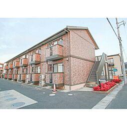 岡山県岡山市中区土田の賃貸アパートの外観