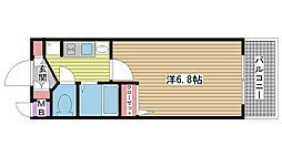 兵庫県神戸市兵庫区湊町2丁目の賃貸マンションの間取り