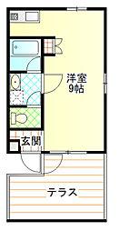 カクヨー栄町ビル[402号室]の間取り