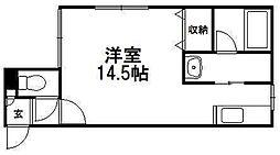 北海道札幌市南区澄川五条3丁目の賃貸マンションの間取り
