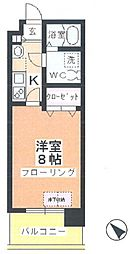 アルファコート川越脇田I[4階]の間取り