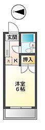 東京都日野市多摩平4丁目の賃貸マンションの間取り
