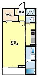 愛知県豊田市中町中郷の賃貸マンションの間取り