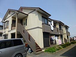埼玉県白岡市小久喜の賃貸アパートの外観