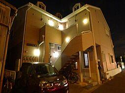 埼玉県蕨市錦町3丁目の賃貸アパートの外観